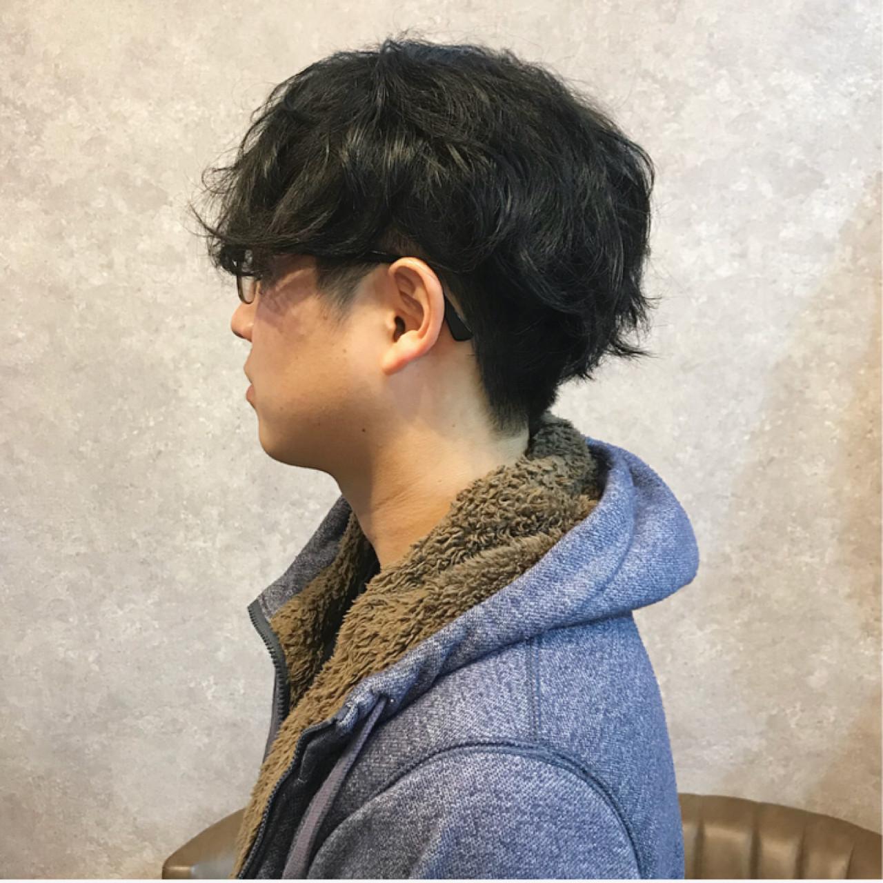 メンズ ショート ナチュラル 簡単ヘアアレンジ ヘアスタイルや髪型の写真・画像