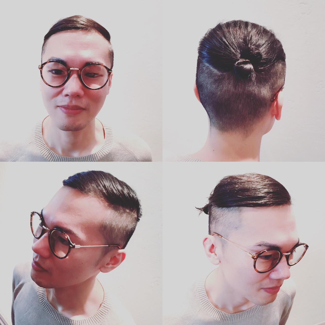 ボーイッシュ メンズ モード 外国人風 ヘアスタイルや髪型の写真・画像
