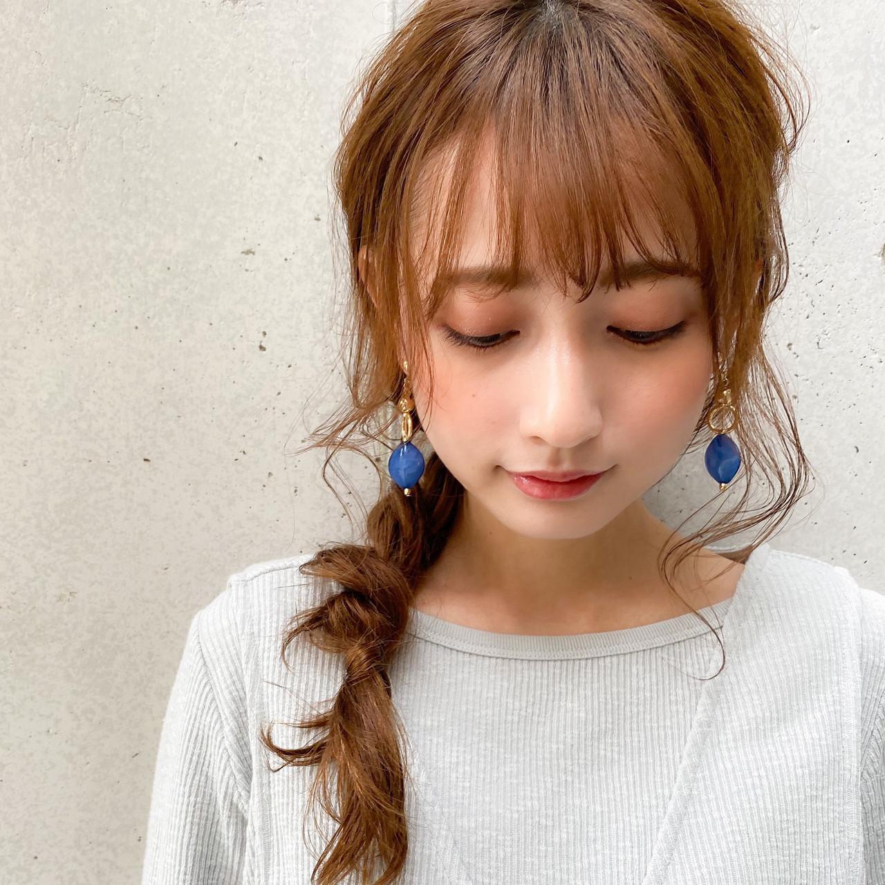 大人かわいい 簡単スタイリング レイヤーカット ロング ヘアスタイルや髪型の写真・画像