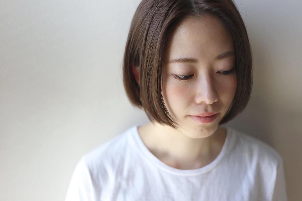 【髪色別】今人気の「ワンレンショート」2020年最新版ヘアカタログ
