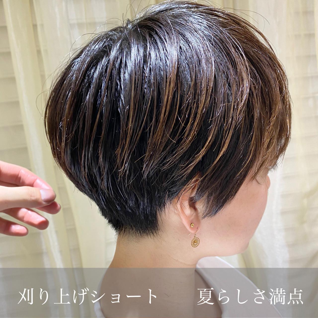 ショートヘア ナチュラル ベリーショート ショート ヘアスタイルや髪型の写真・画像