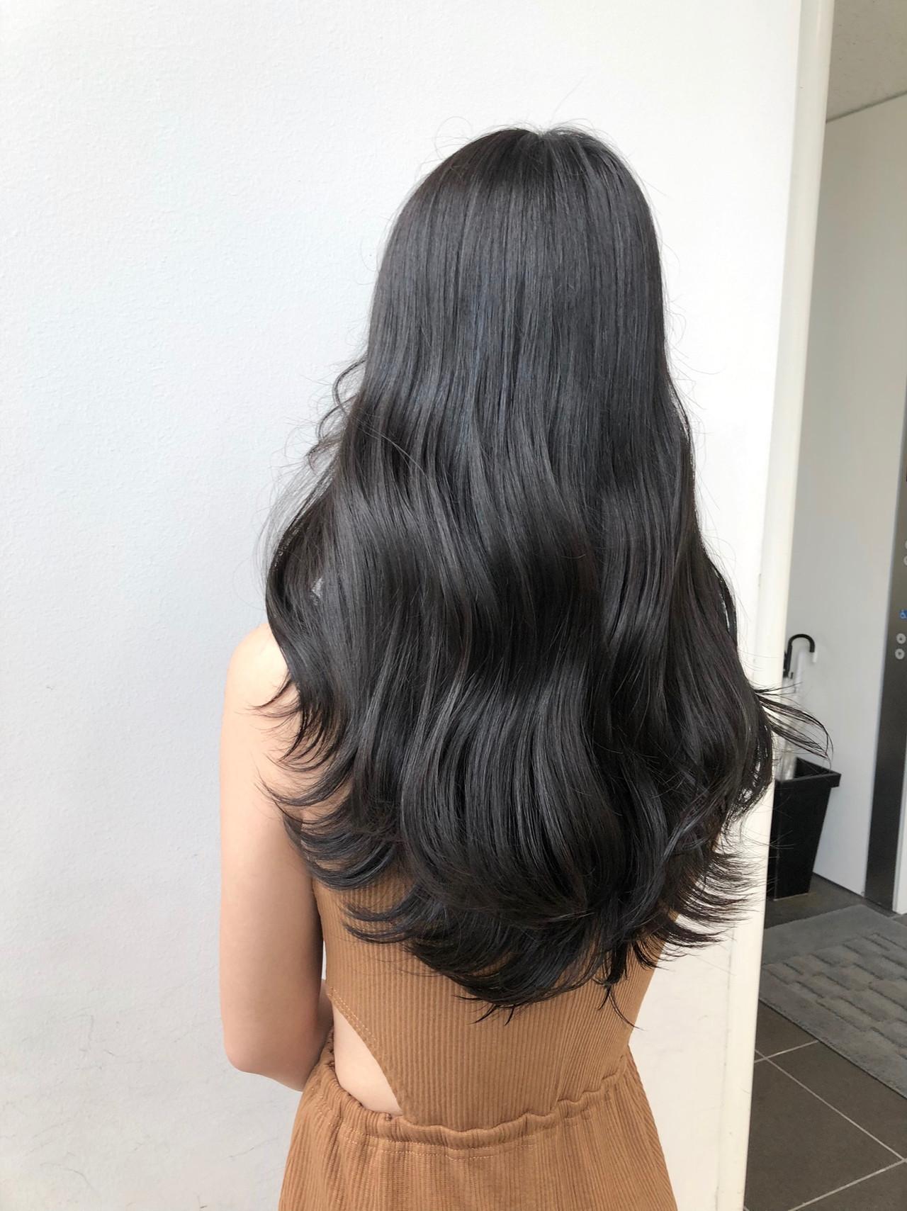 韓国風ヘアー 韓国ヘア ナチュラル タンバルモリ ヘアスタイルや髪型の写真・画像
