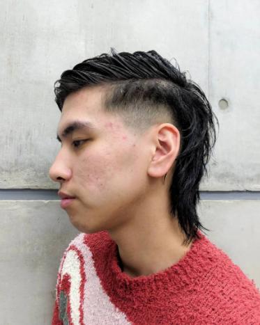 ショート ストリート メンズスタイル 刈り上げ ヘアスタイルや髪型の写真・画像