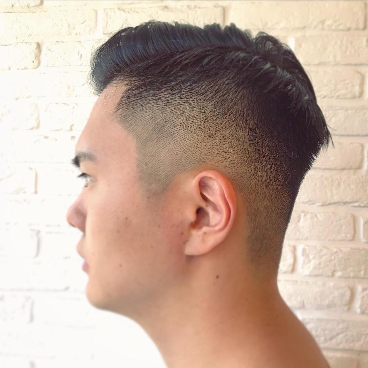 スキンフェード ストリート メンズショート メンズヘア ヘアスタイルや髪型の写真・画像
