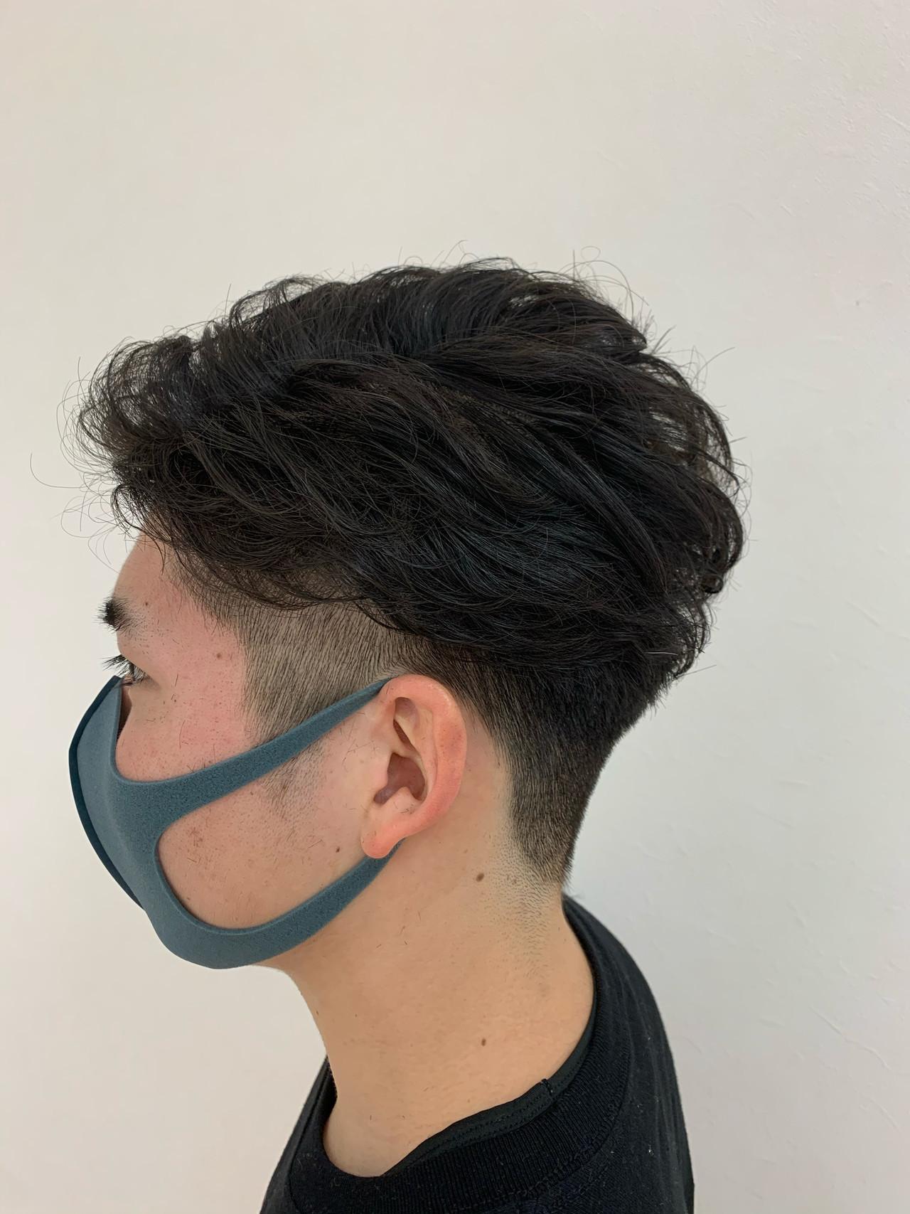 メンズカット ナチュラル メンズショート ショート ヘアスタイルや髪型の写真・画像