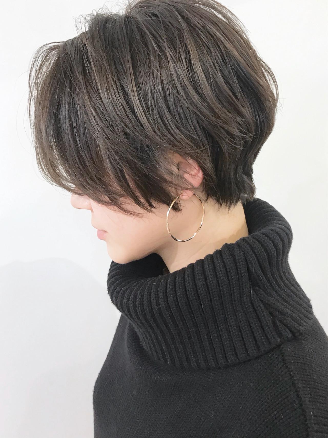 コンサバ ベリーショート ショートヘア ゆるふわ ヘアスタイルや髪型の写真・画像