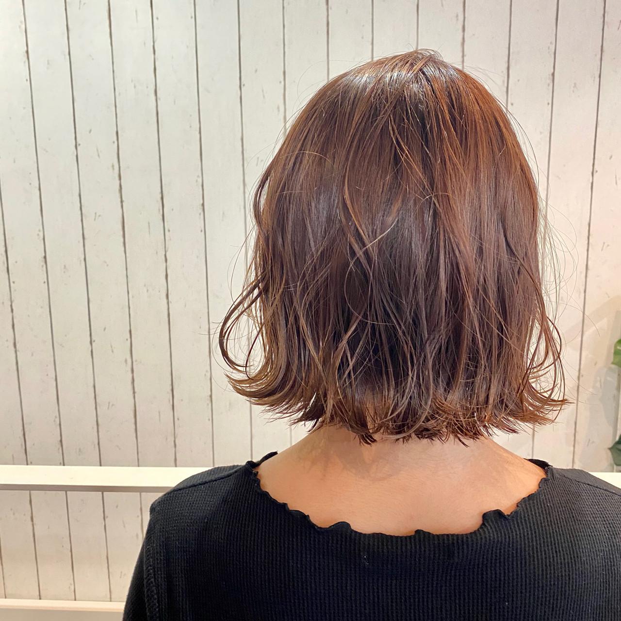 ゆるふわセット ショートボブ ミニボブ モテボブ ヘアスタイルや髪型の写真・画像
