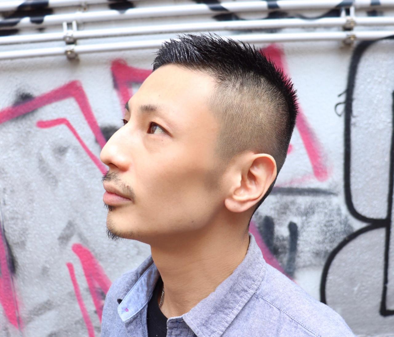 ストリート メンズヘア ショート ベリーショート ヘアスタイルや髪型の写真・画像