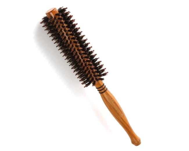 raffinare(ラフィナーレ) ロールブラシ 豚毛 耐熱仕様 ブロー カール 巻き髪 ヘア ブラシ ロール