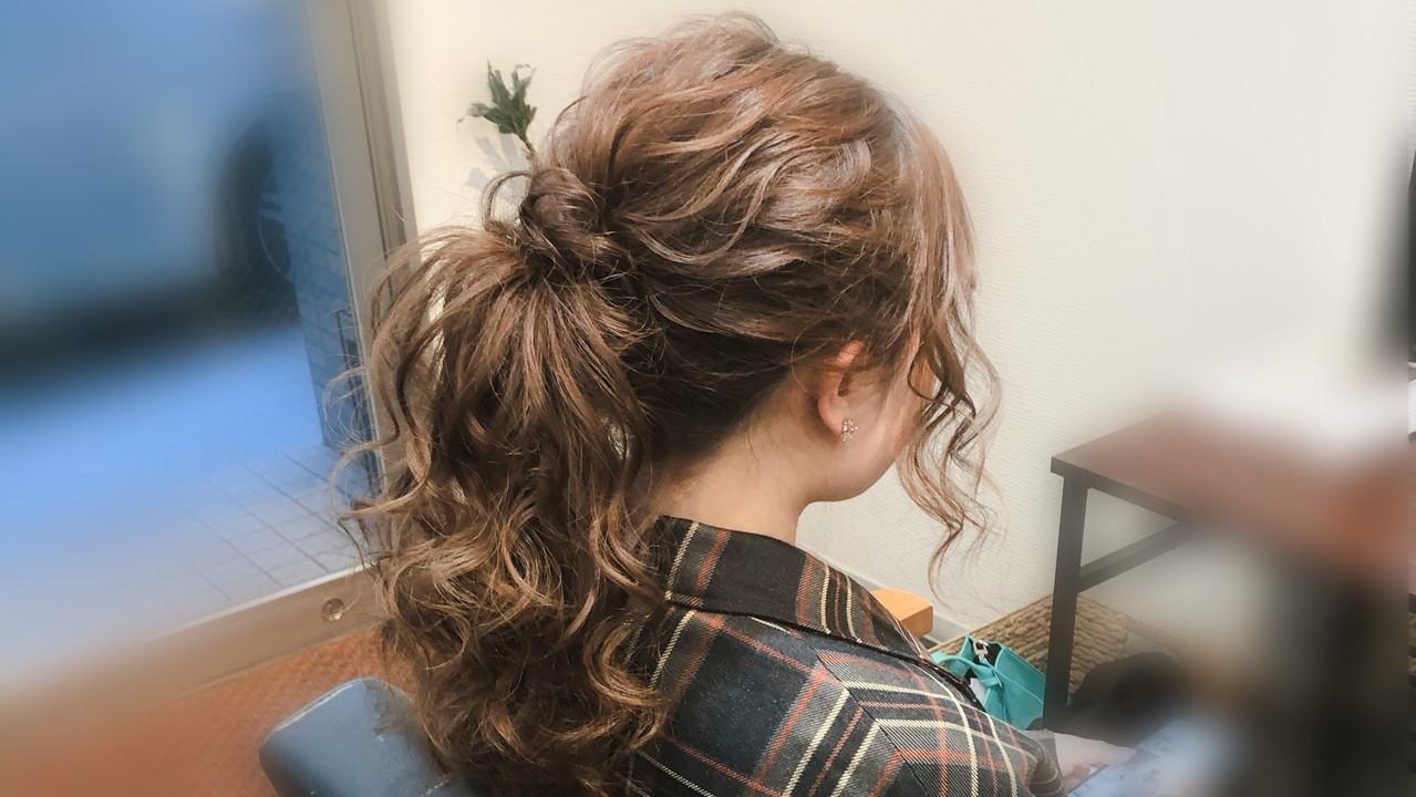 毛量多い人におすすめのすっきりヘアアレンジ!夏の涼しげまとめ髪