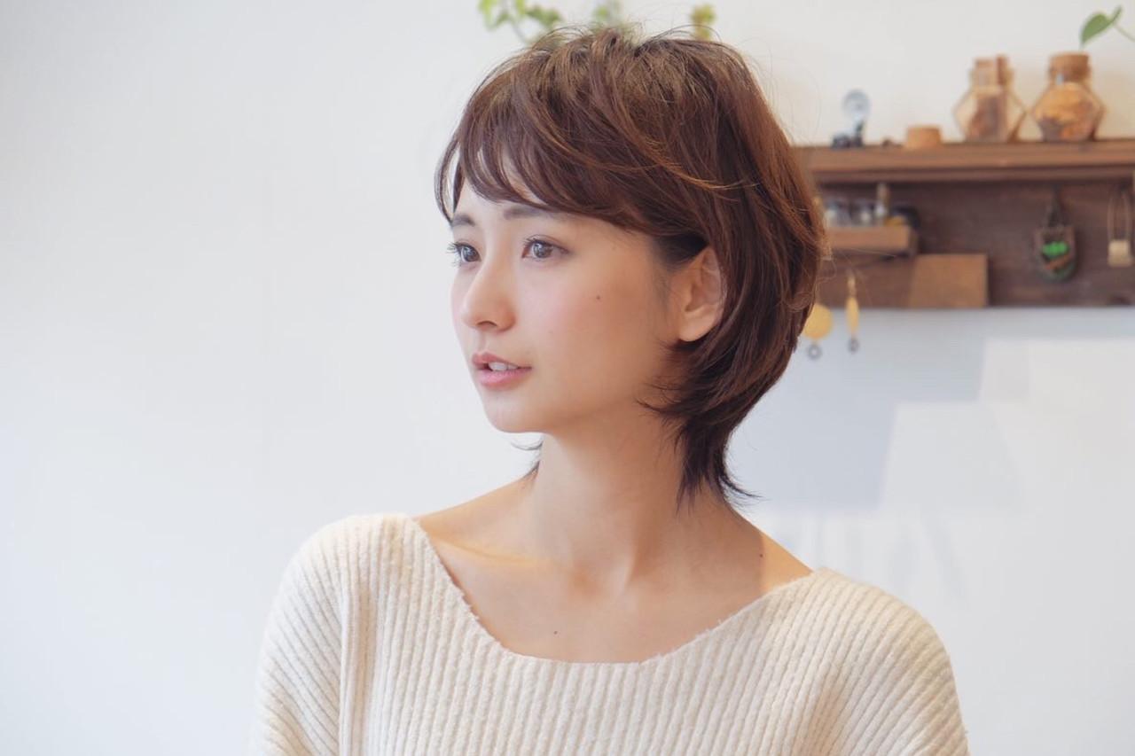 ショート エレガント ヘアスタイルや髪型の写真・画像[エリア]