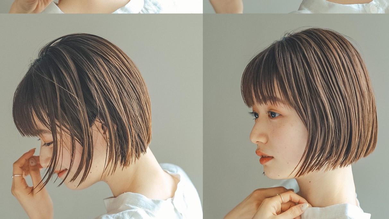 シルエットを重視する女性多数!横顔美人が叶うヘアスタイル集