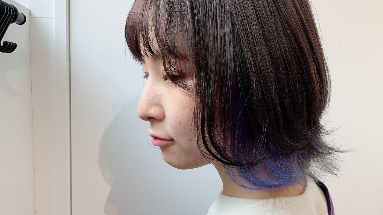毛先だけ染める髪色が話題!セルフカラーのやり方や美容院オーダー方法をご紹介
