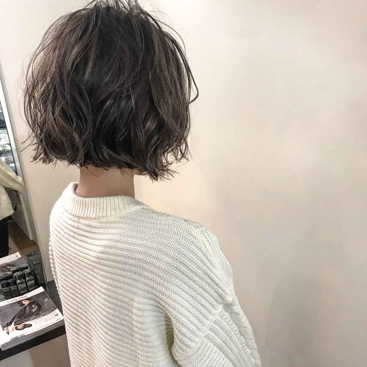 ゆるふわ ウェーブ アンニュイほつれヘア ボブ ヘアスタイルや髪型の写真・画像