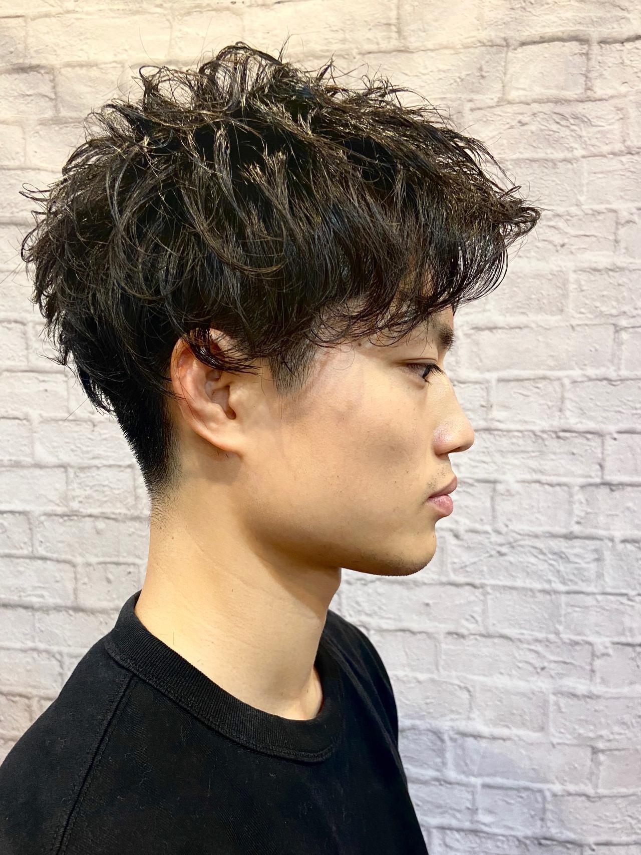 刈り上げ ショート ベリーショート マッシュ ヘアスタイルや髪型の写真・画像