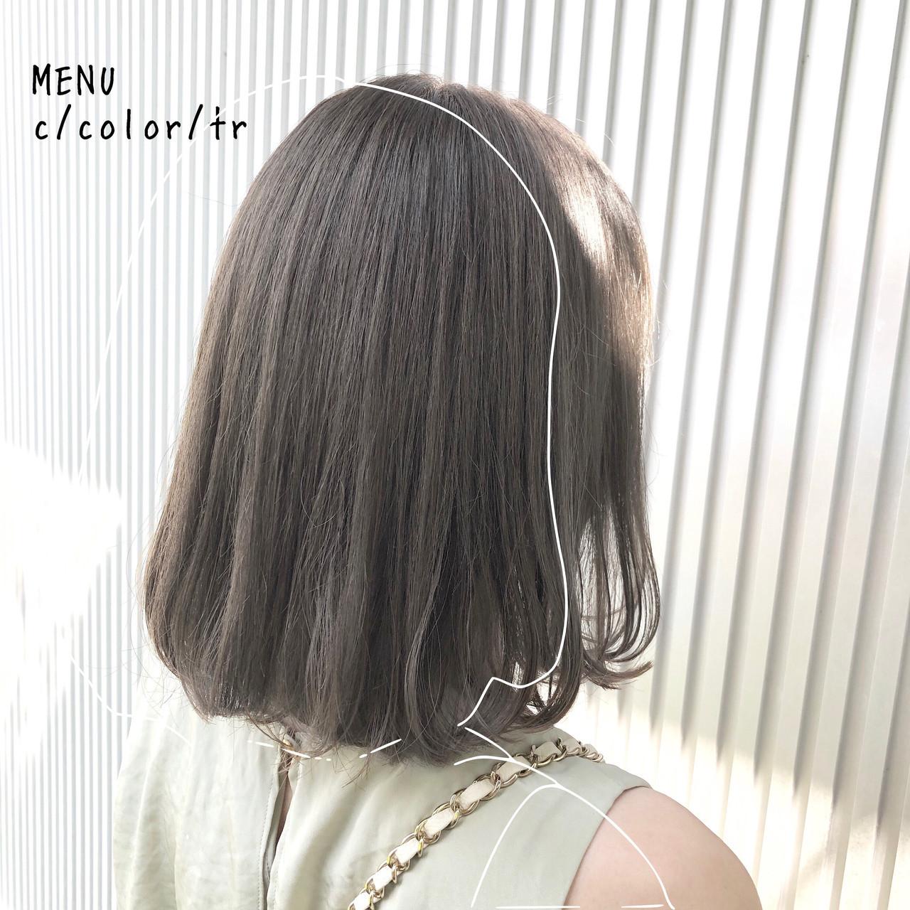 髪質改善 ストレート 前髪 縮毛矯正 ヘアスタイルや髪型の写真・画像