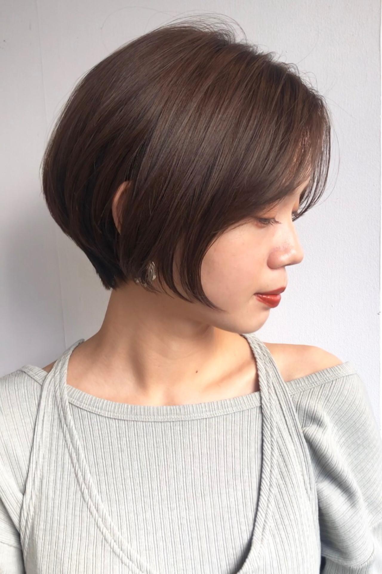 ショート ベリーショート ショートヘア バイオレットアッシュ ヘアスタイルや髪型の写真・画像