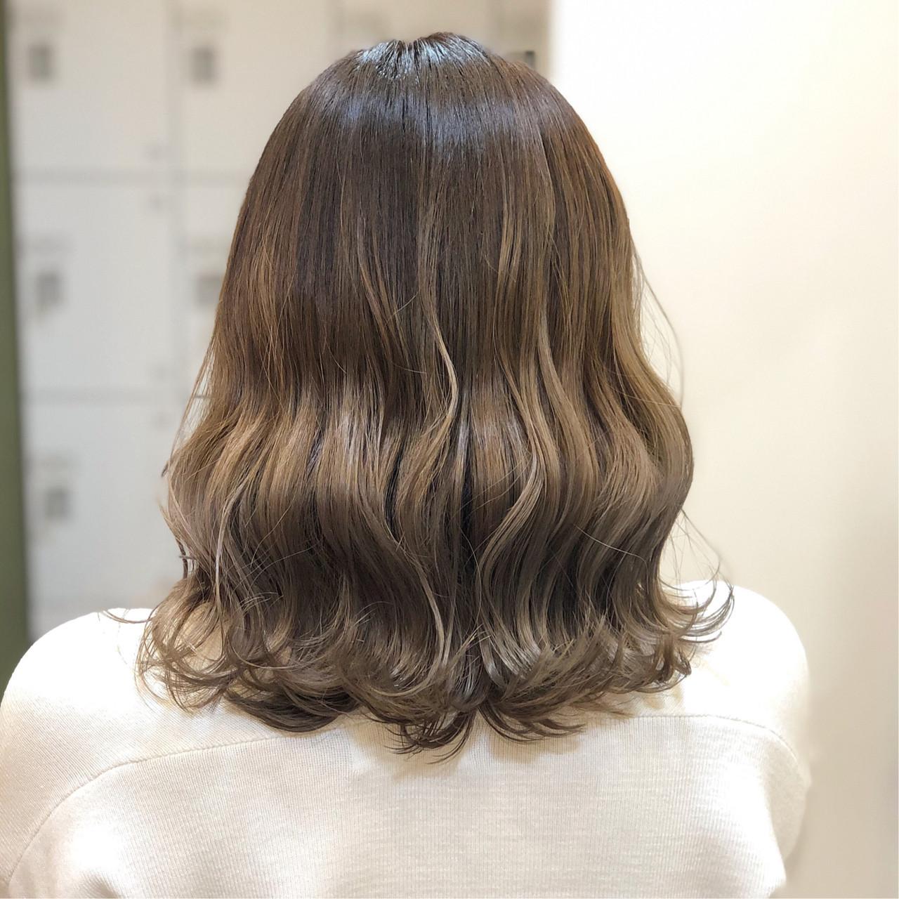 外国人風フェミニン 外国人風カラー フェミニン グラデーションカラー ヘアスタイルや髪型の写真・画像
