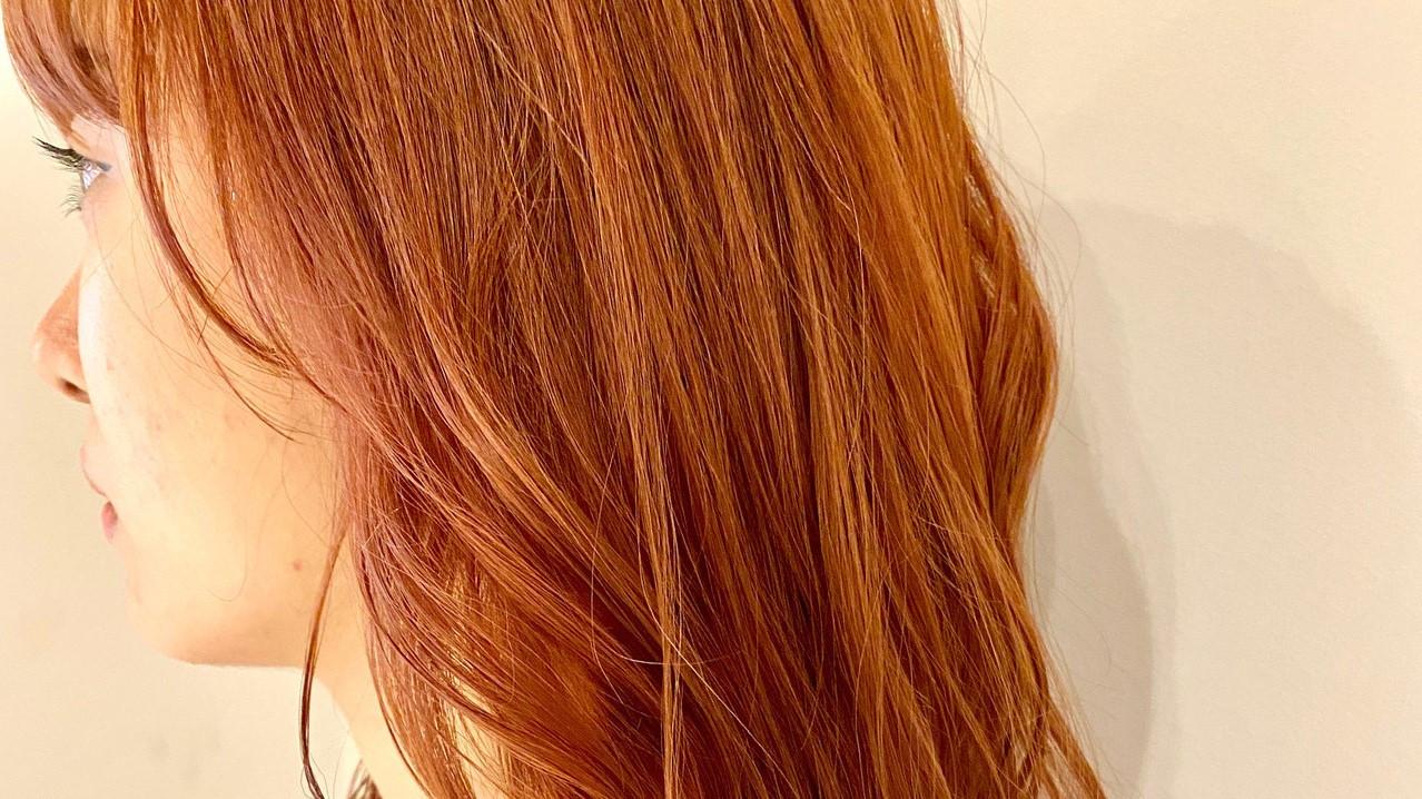 オレンジブラウンでつくる今っぽスタイル♡ヘアカラーカタログ