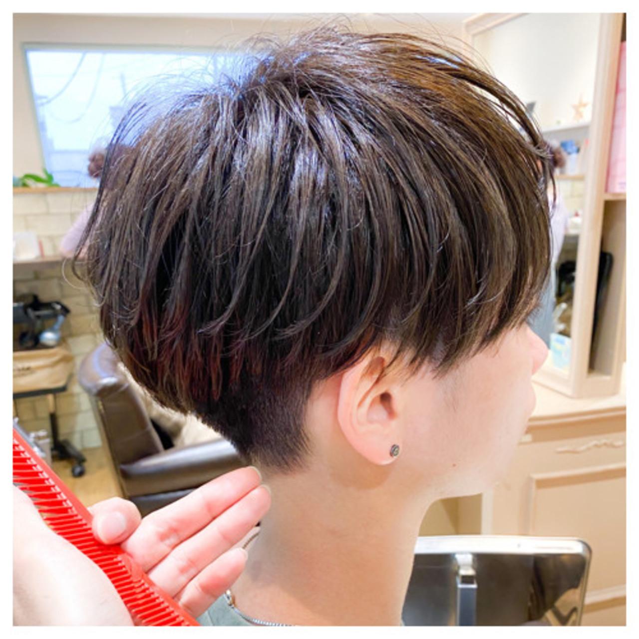 ストリート ショート ショートヘア ツーブロック ヘアスタイルや髪型の写真・画像