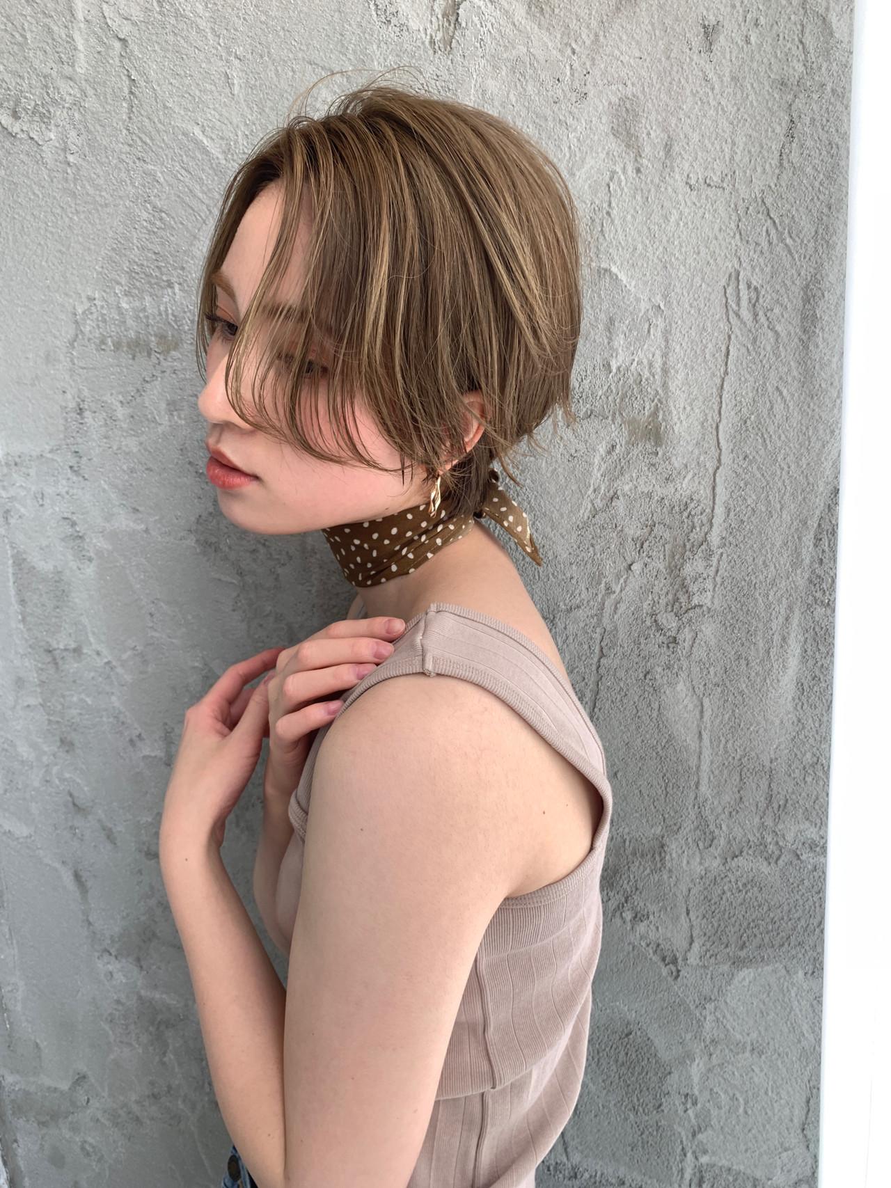 ハイトーン ショートヘア ベリーショート ショート ヘアスタイルや髪型の写真・画像