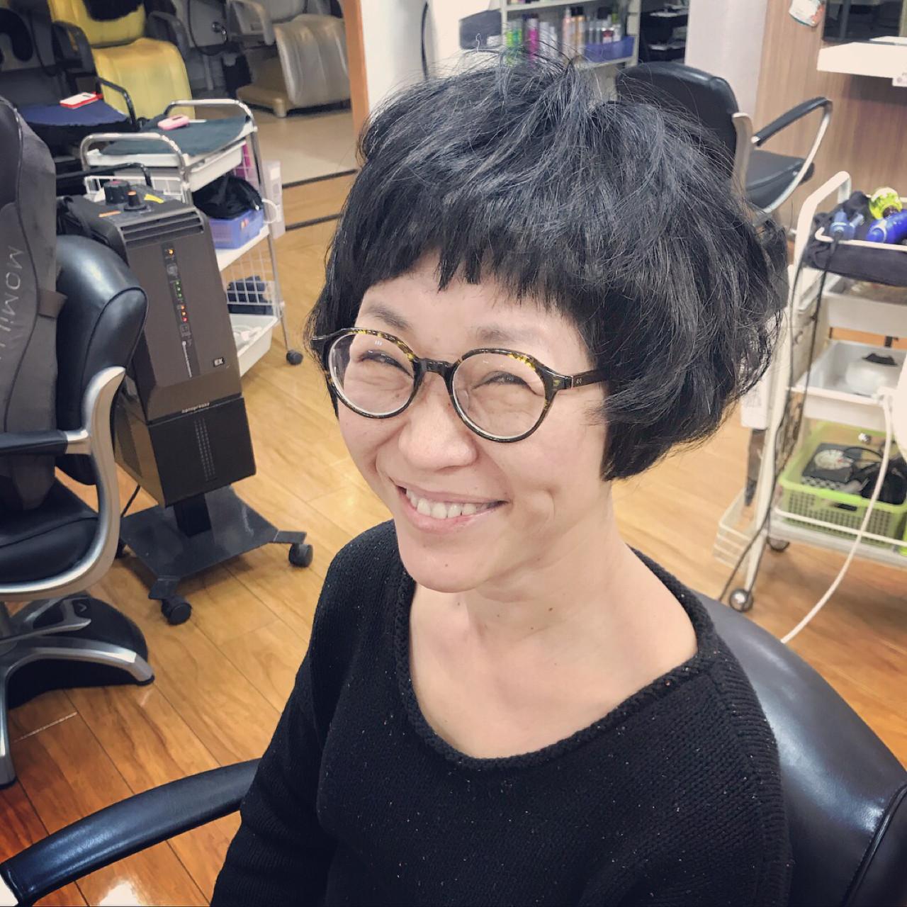 マッシュ ヘアアレンジ ショート アウトドア ヘアスタイルや髪型の写真・画像