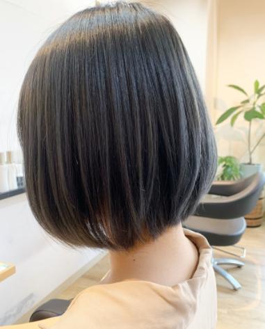 ボブ イルミナカラー 外国人風カラー 透明感カラー ヘアスタイルや髪型の写真・画像