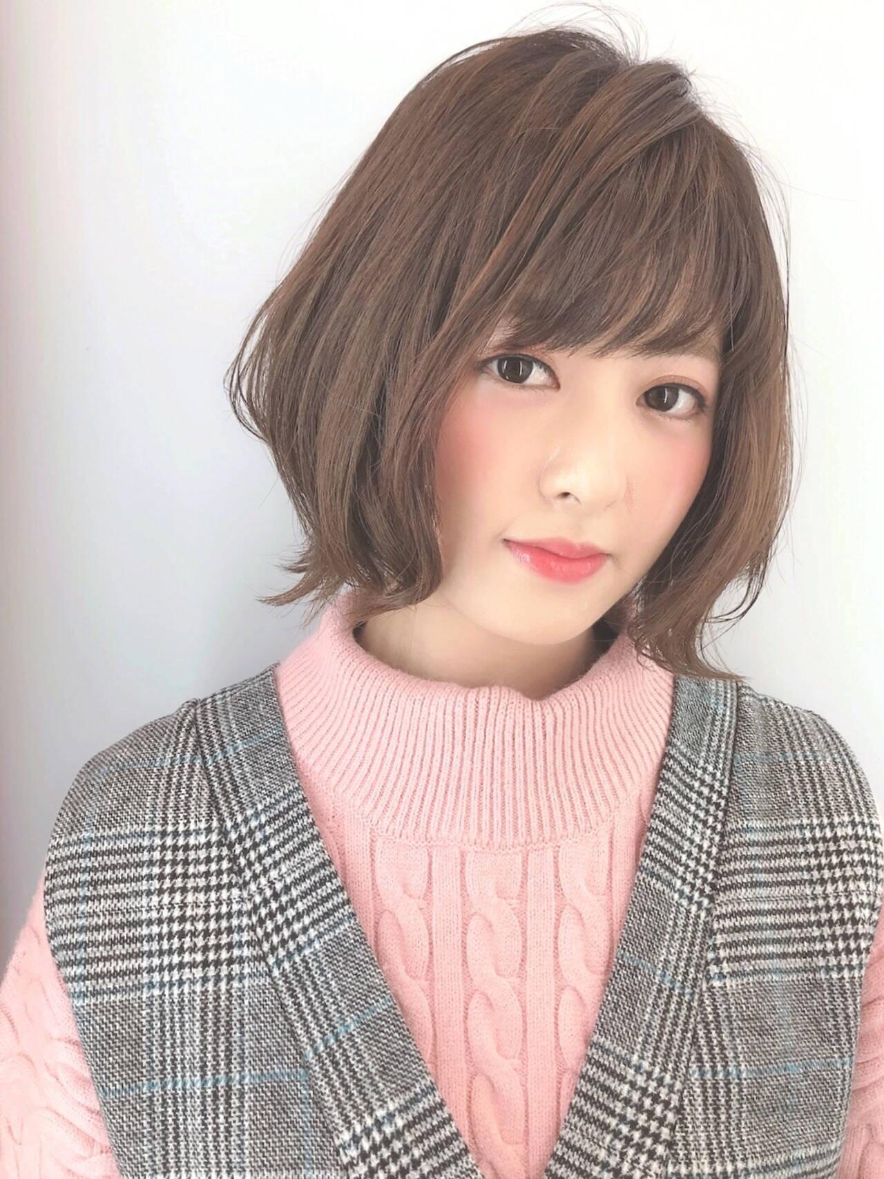 前髪とのバランスも見て Marie Tagawa 【morio原宿】  morio from London 原宿本店