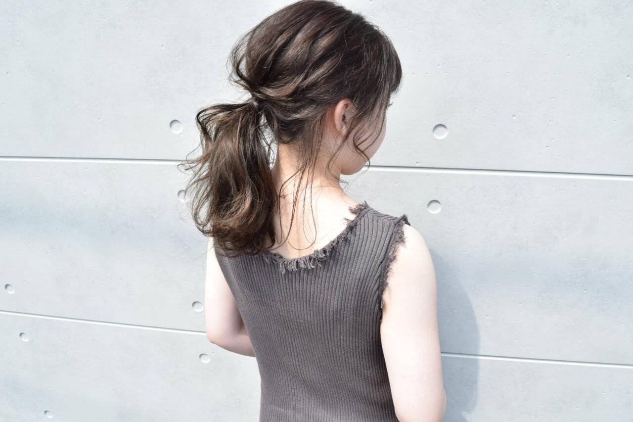 たゆんとしたゆるポニー Takanori Kondou  hair & healing Hip Hip Hurrah