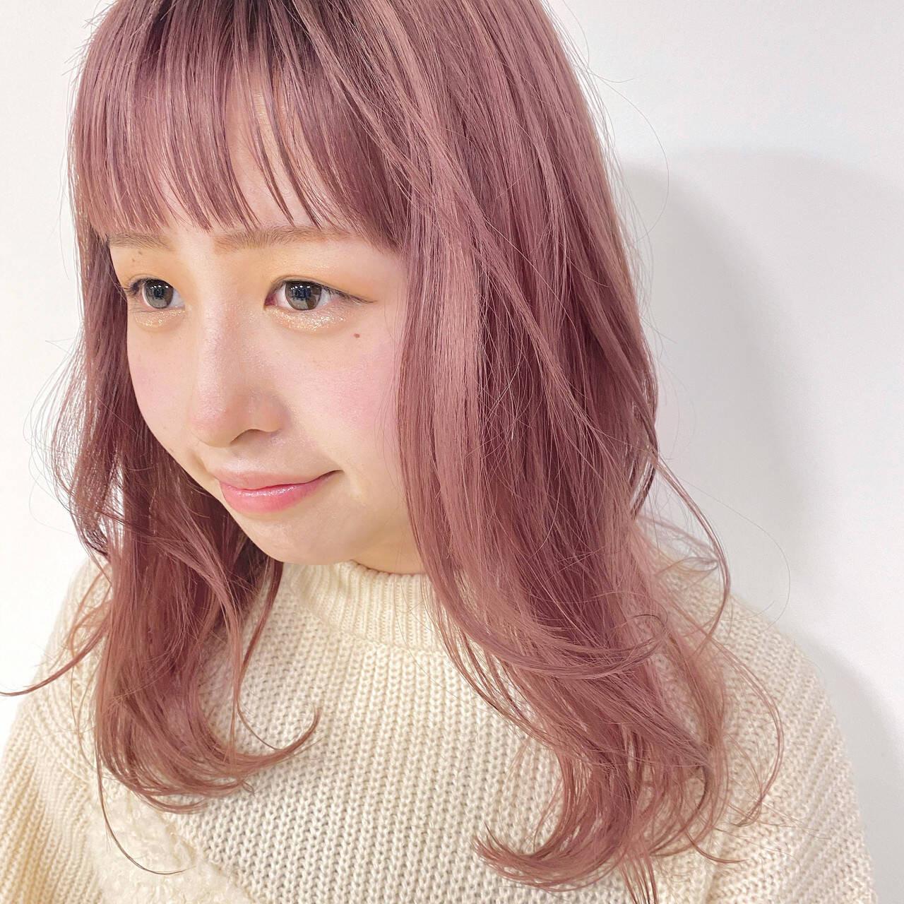 ピンク系カラーはマスト 伊藤春香  SAMURAI