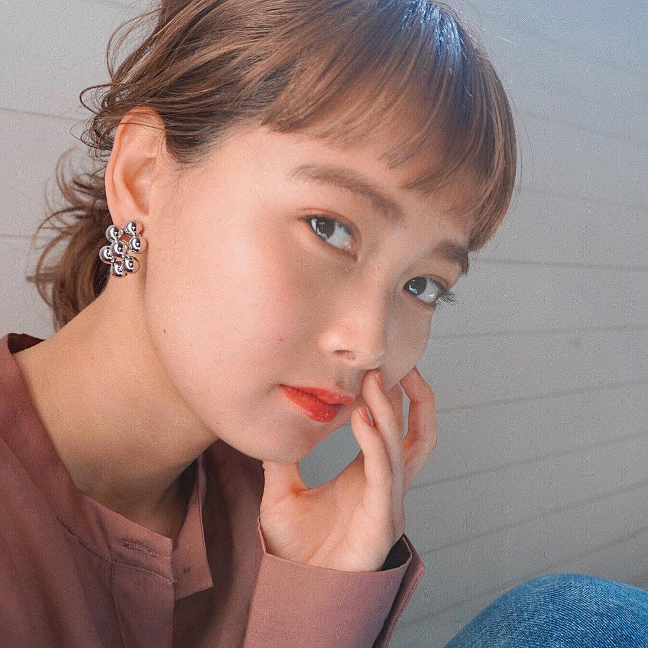 ワイドなオン眉で印象付けて♡ 北田 ゆうすけ  December/