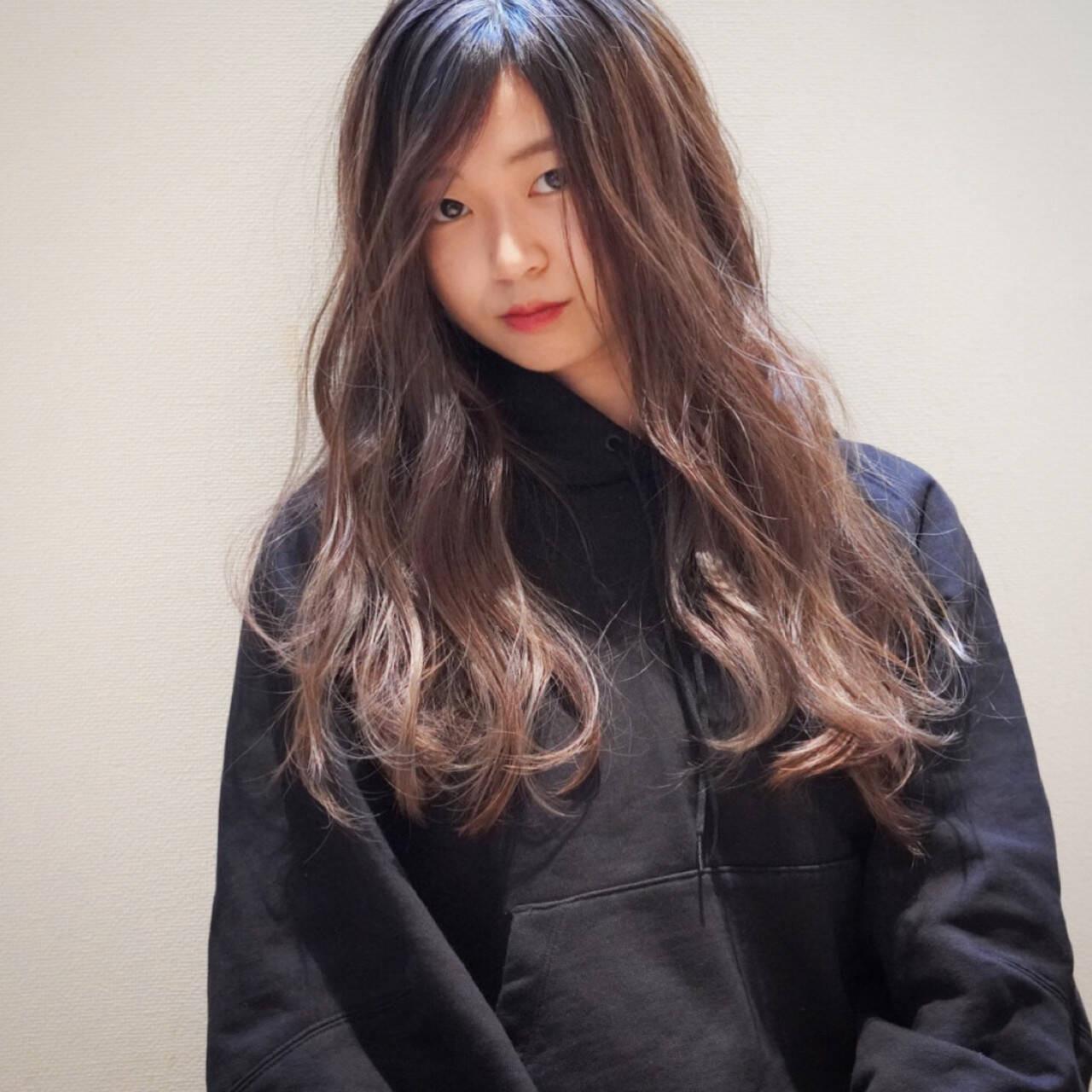 MAMAMOO ファサの色気ロング Takashi Tetone  SHIKIO HAIR DESIGN