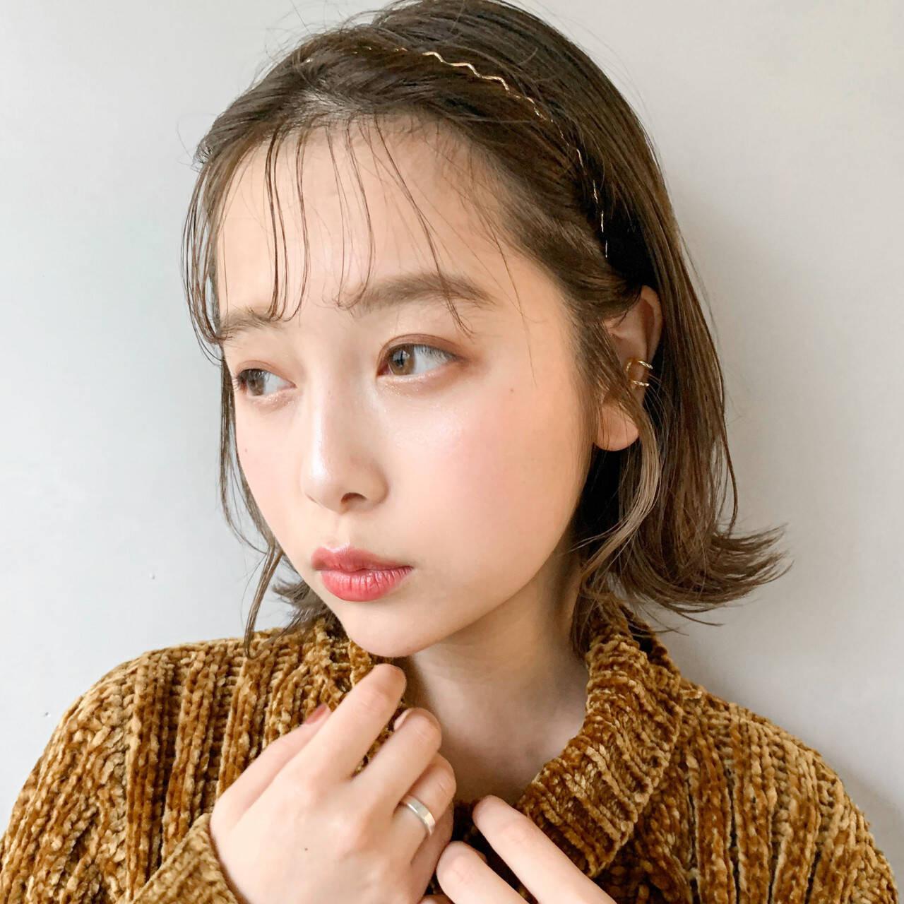 ぱらぱら前髪からおでこがチラ見え Natsuko Kodama 児玉奈都子  dydi