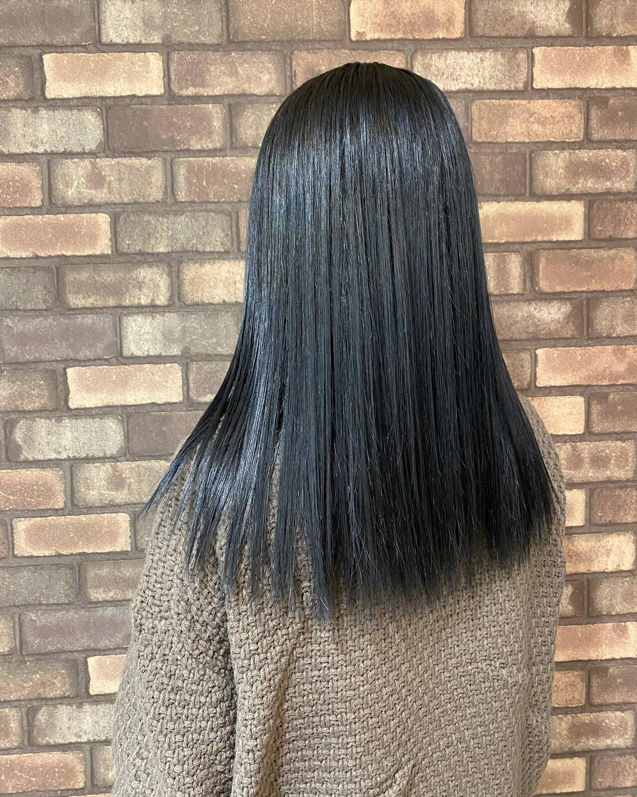 学生・OLさんは暗髪で透明感を表現 奥野 和広  TERRACE LUXBE