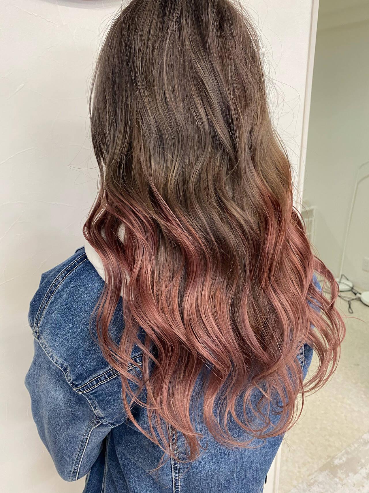 グラデーションカラーなら境目が目立たない 時松 紘希  Hair&esthetic Link