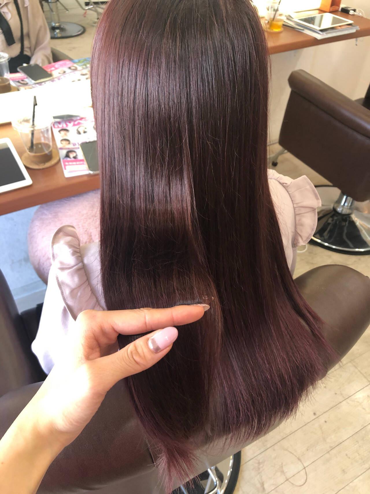 ヘアセットはせずスタイリング剤もつけずに行く 勝又舞夏  Richer hairsalon リシェル渋谷
