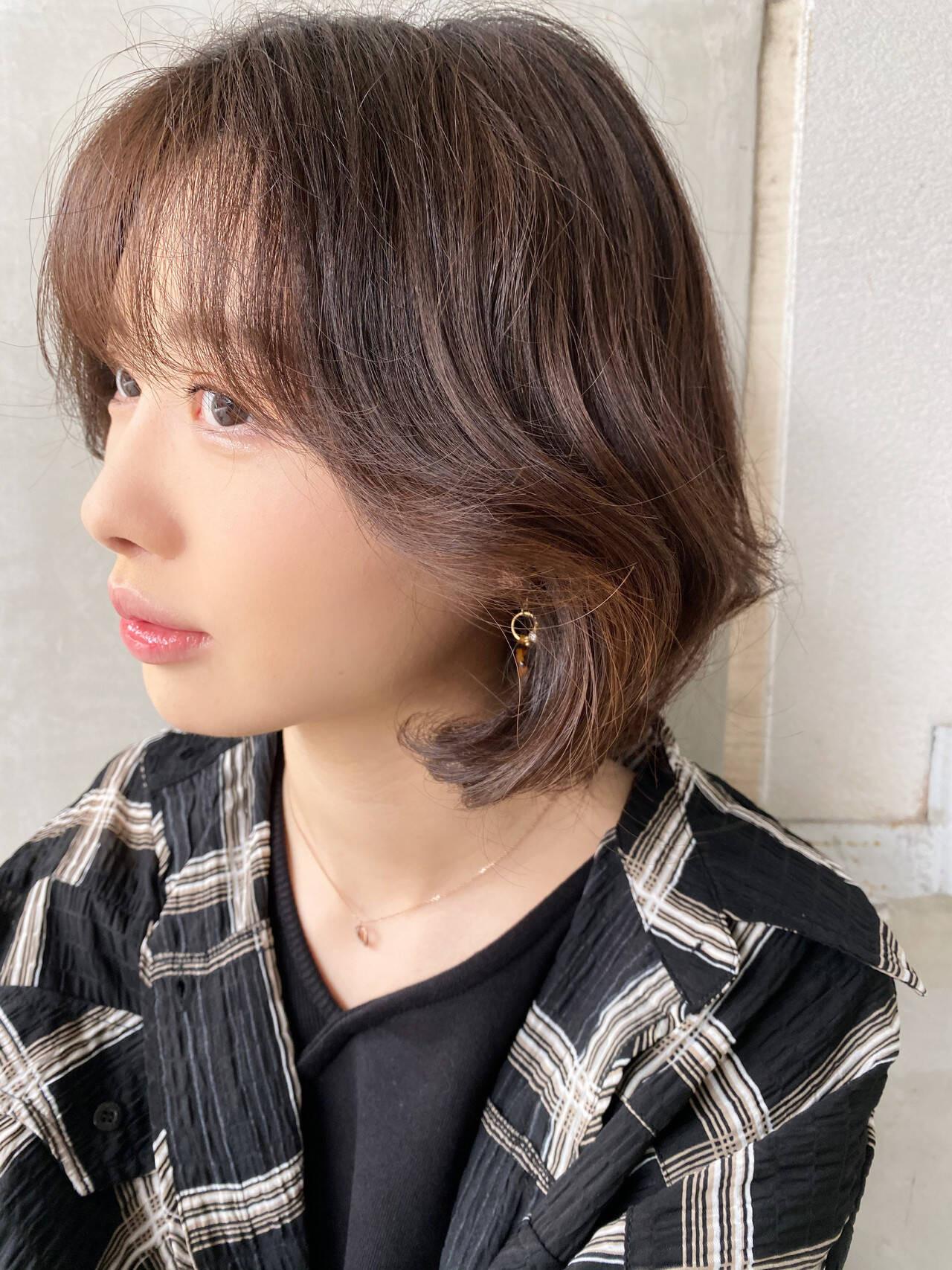 ステップ2:真ん中の前髪は普通に巻く 山崎雄太  Vida creative hair salon