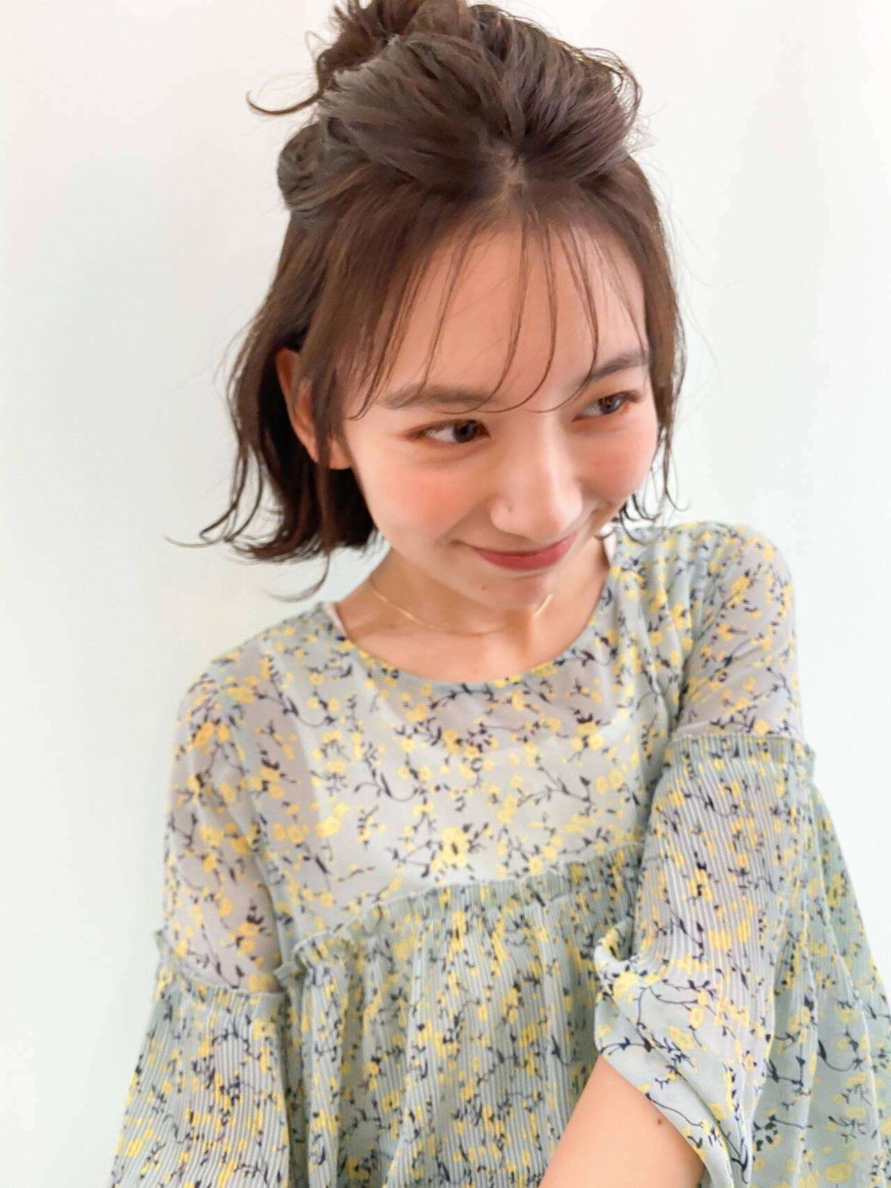 前髪×アレンジでマンネリを防止 タカトリミキ/ Neolive CiroL.  Neolive CiroL.
