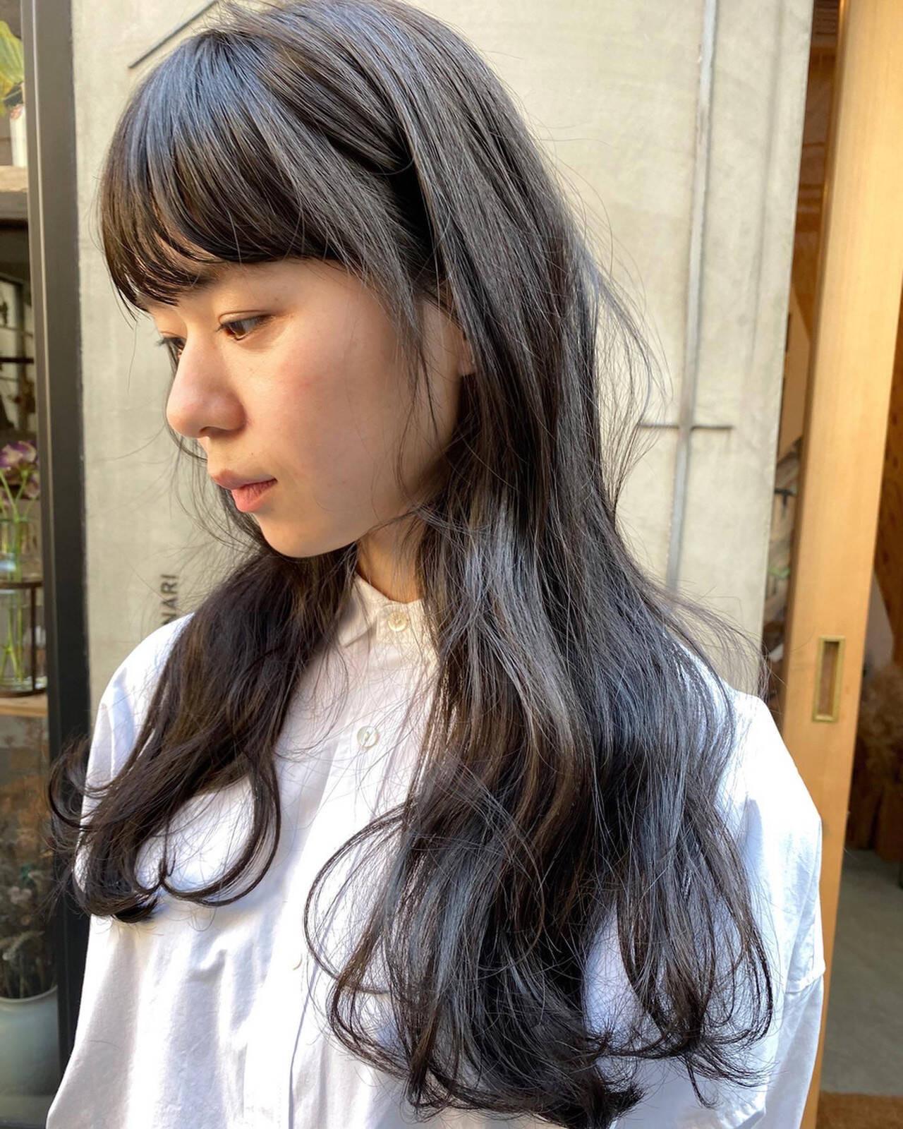 暗髪×ウェーブで小洒落女子に 冨永 真太郎  人トナリ