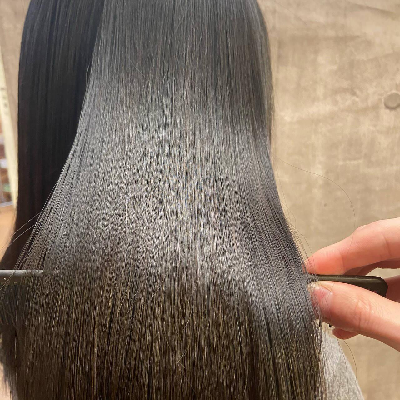 サロンのトリートメントを定期的に◎ 髪質改善/熊谷 竜馬  neolive eclat