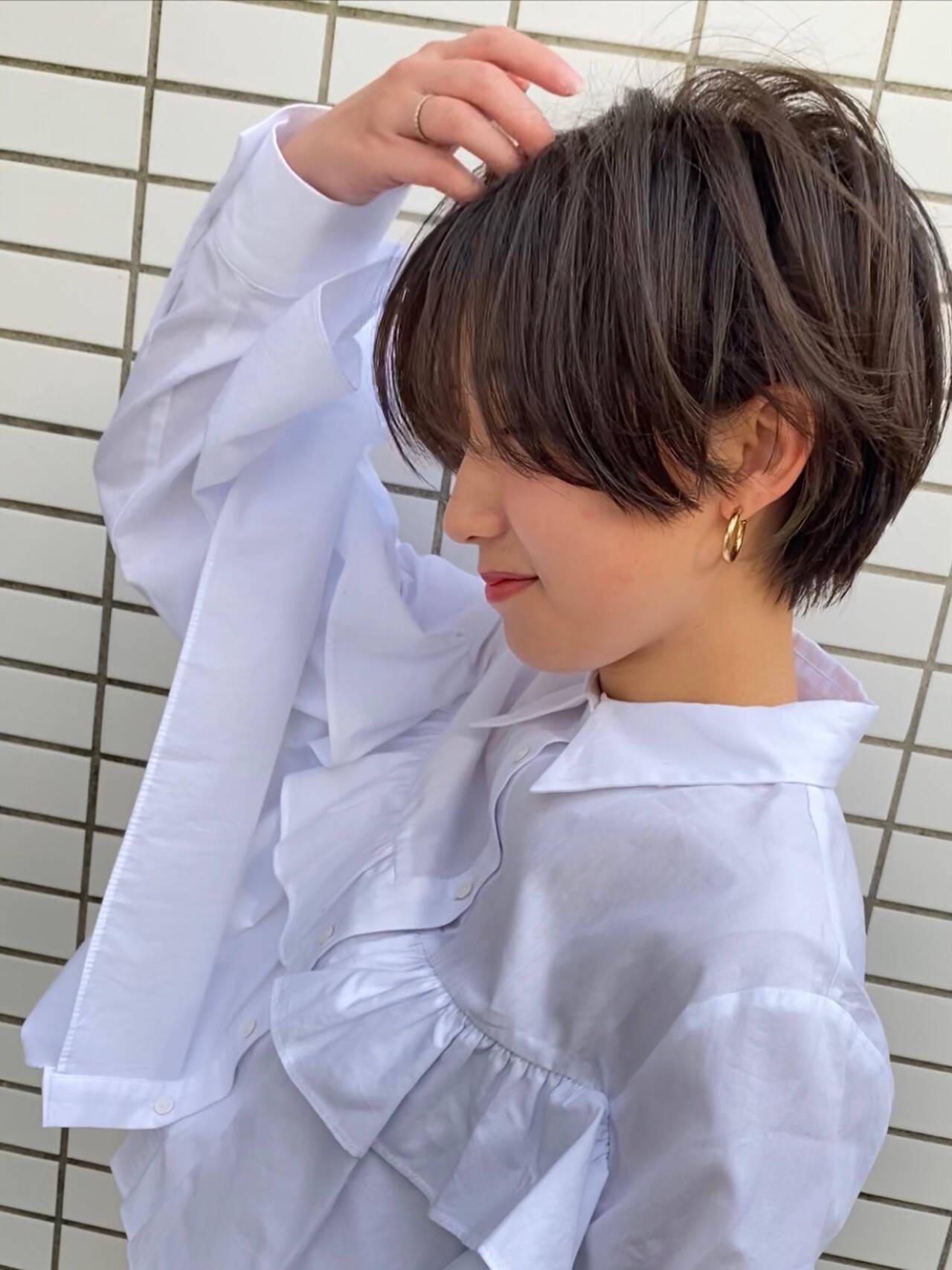 ショート×ナチュラルヘア 島田 雅斗  hair design acoustic