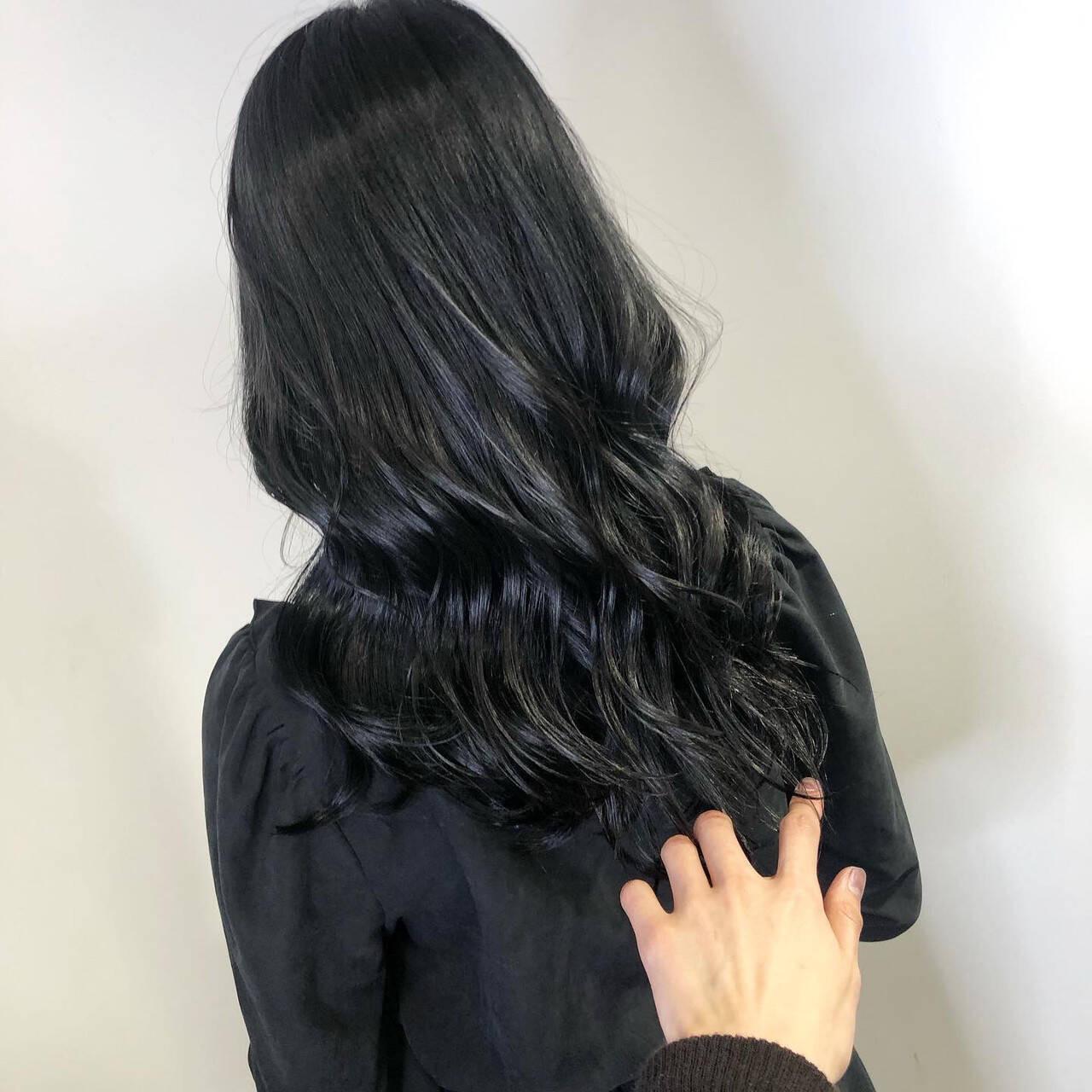 ブルーブラックでおしゃれな黒髪にするもよし♡ 佐藤高徳  RAFTOKYO