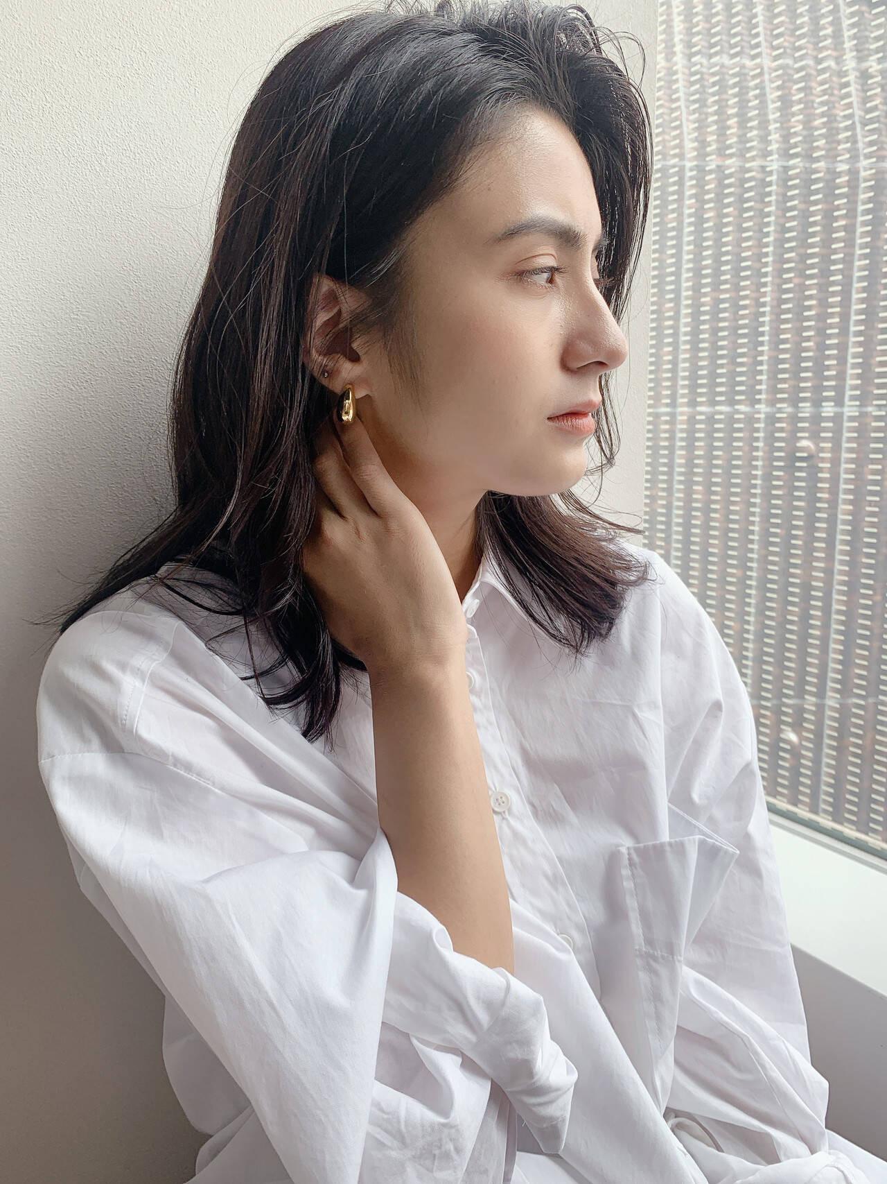ミディアム×暗髪 オグラ カナ  K-two AOYAMA