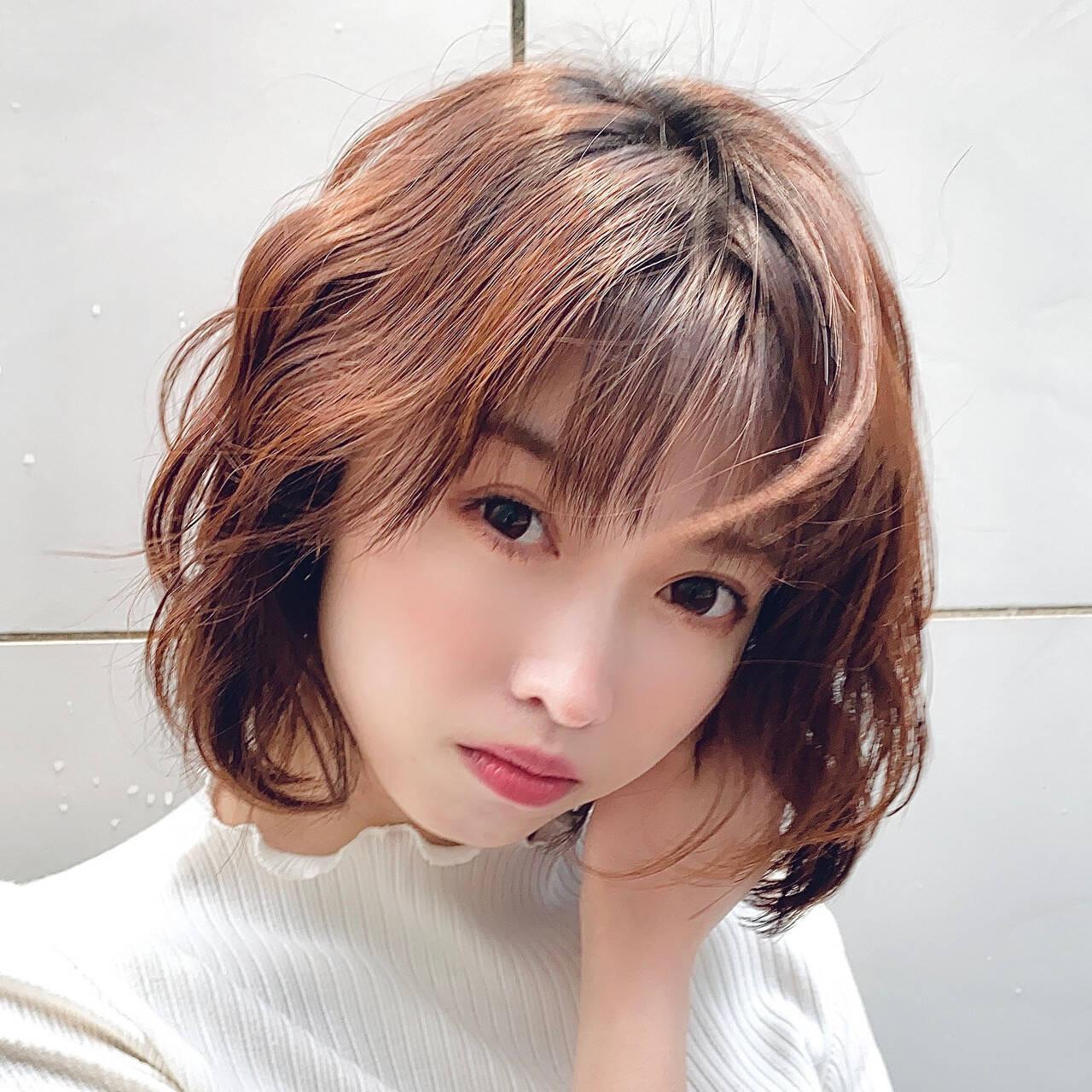 ボブのふわくしゅヘア Noriko Hayashida  PLUSAVEDA 名古屋 栄