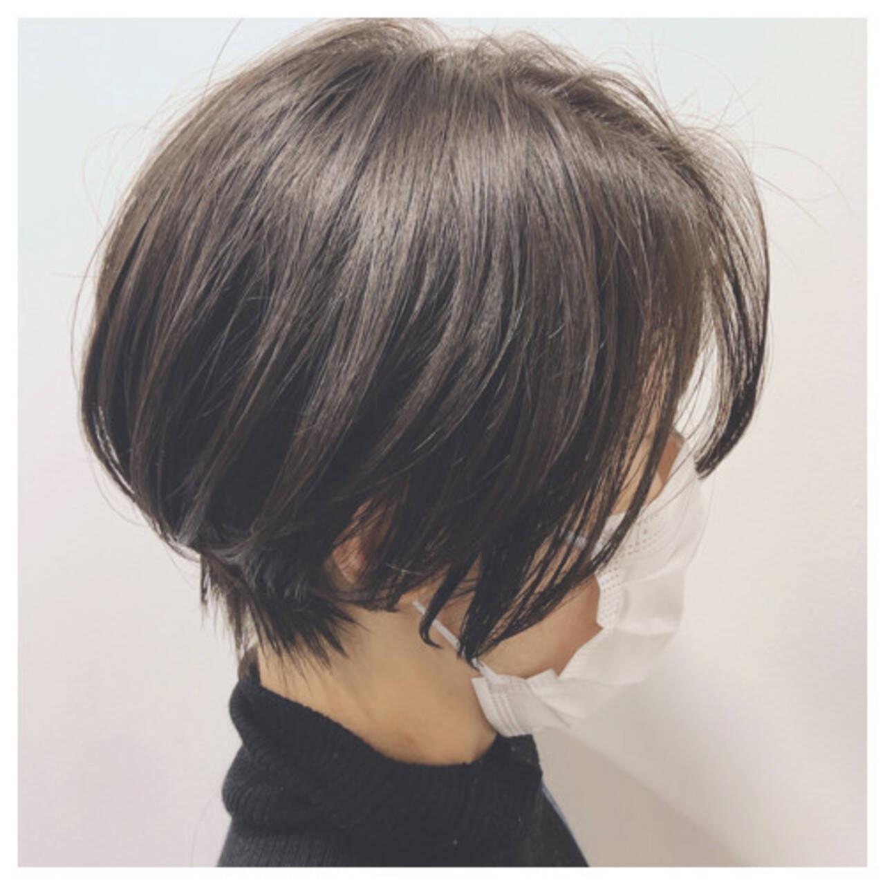 くびれショート 【大人可愛いヘア】亀井大旗  HAIR&ART LUMINA