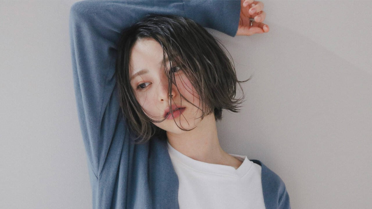 【顔型別】前髪なし×ボブヘアの似合わせポイントとは?