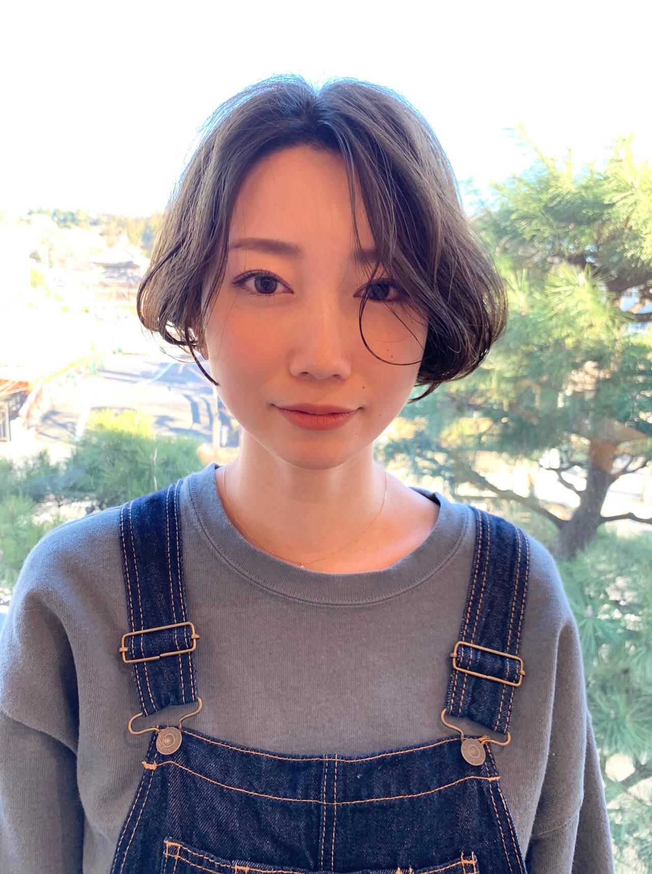 ×裾カールショートボブ 川村勇貴  BEAUTRIUM鎌倉小町店