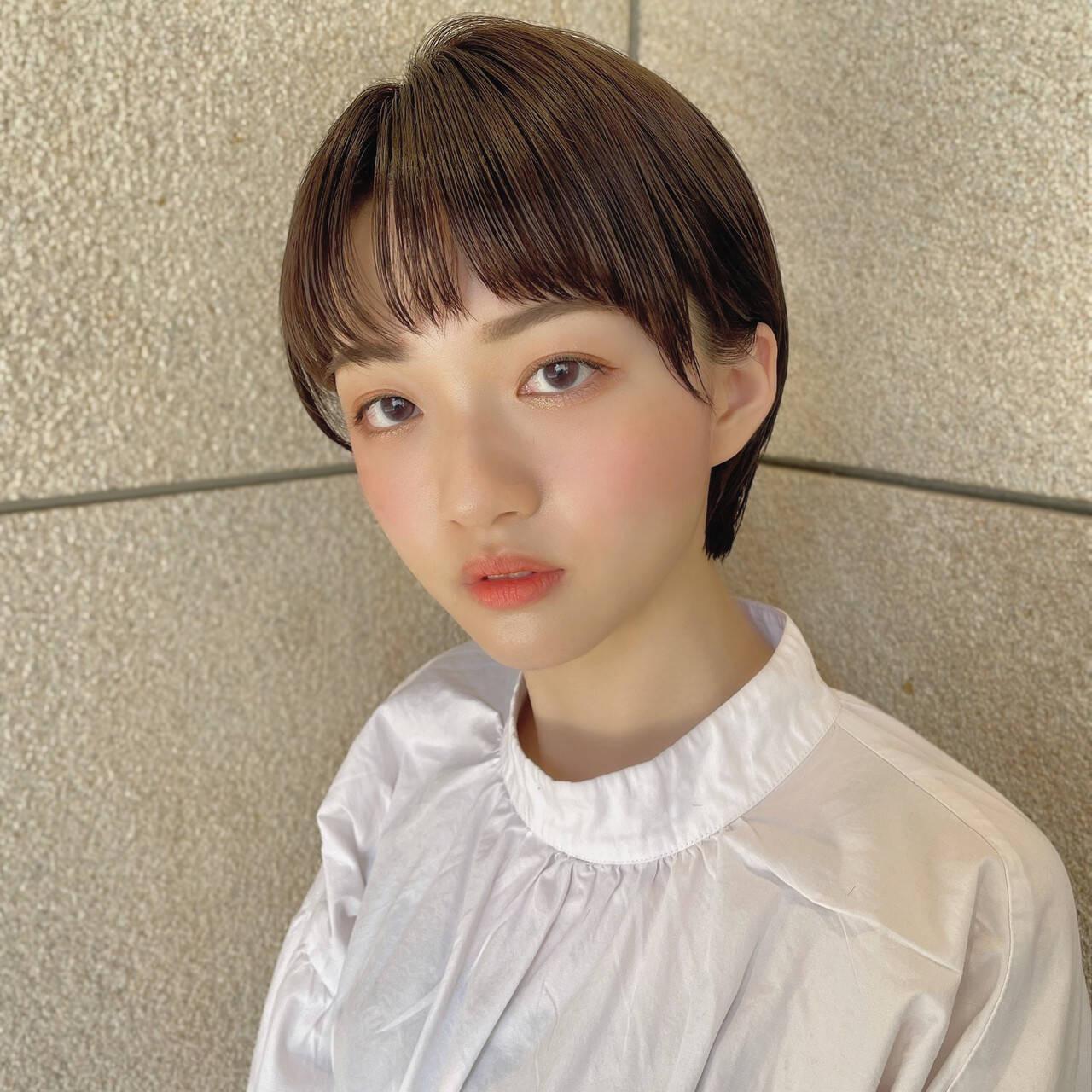 ×ナチュラルショート KYOHEI ODA  PEEK-A-BOO アトレ恵比寿店