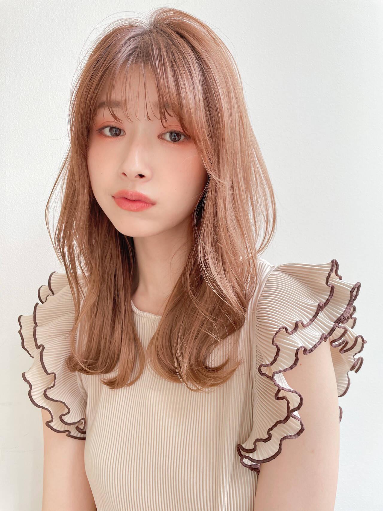 柔&透明感のあるヘアスタイルは... 杉山 美羽  Agnos 青山