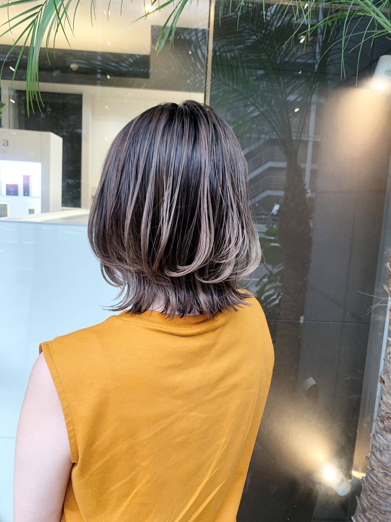 魅力②髪に立体感が生まれる Taku/ショート、ハイライト  Luis 難波